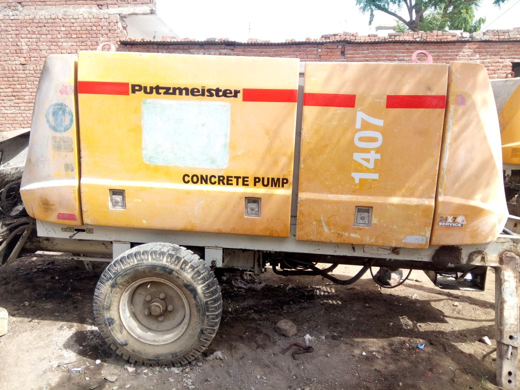 Buy, Sale Concrete Pump, Concrete Pump for Rent in India - Equipment